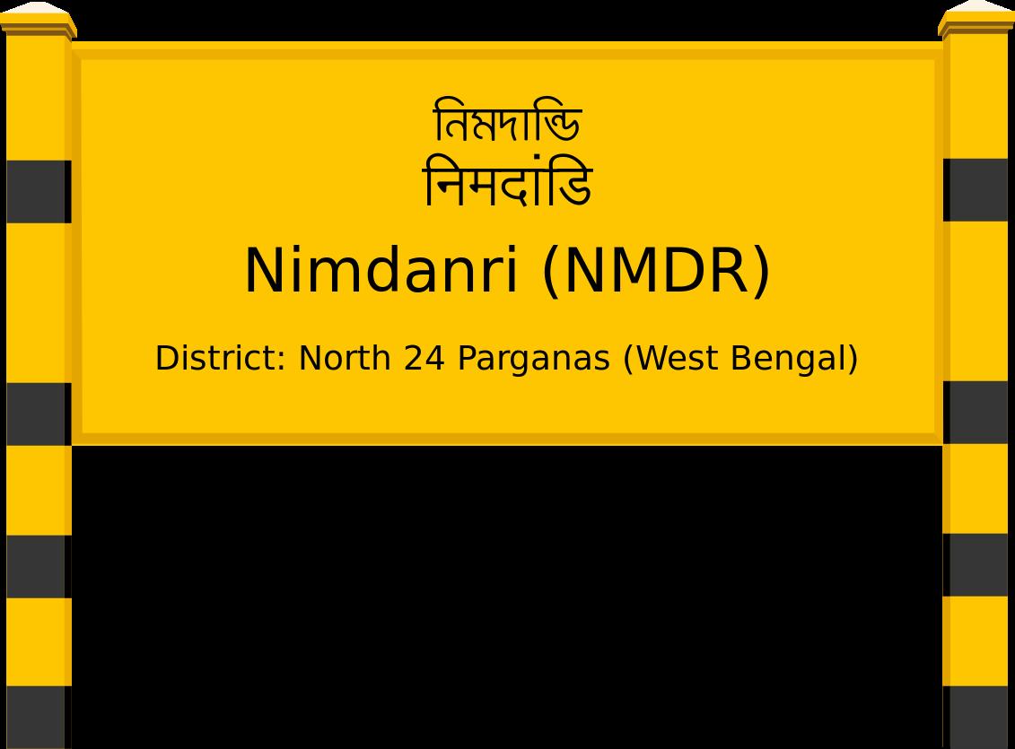 Nimdanri (NMDR) Railway Station
