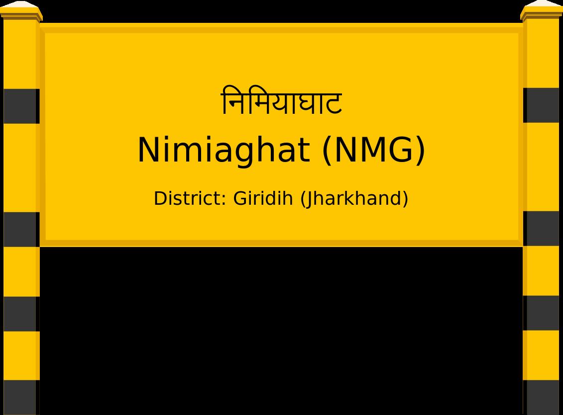 Nimiaghat (NMG) Railway Station