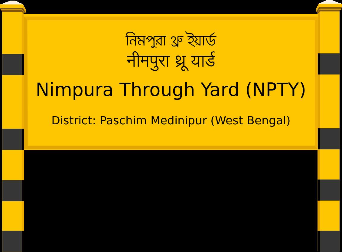 Nimpura Through Yard (NPTY) Railway Station