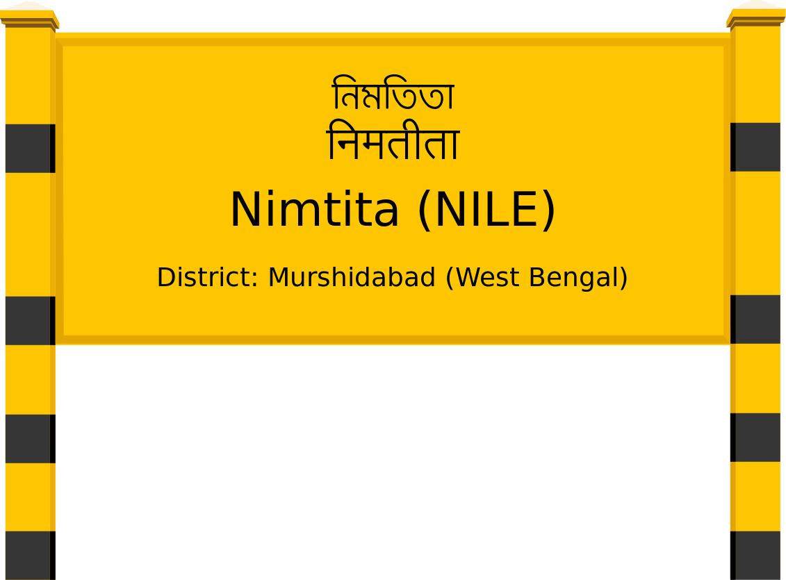 Nimtita (NILE) Railway Station
