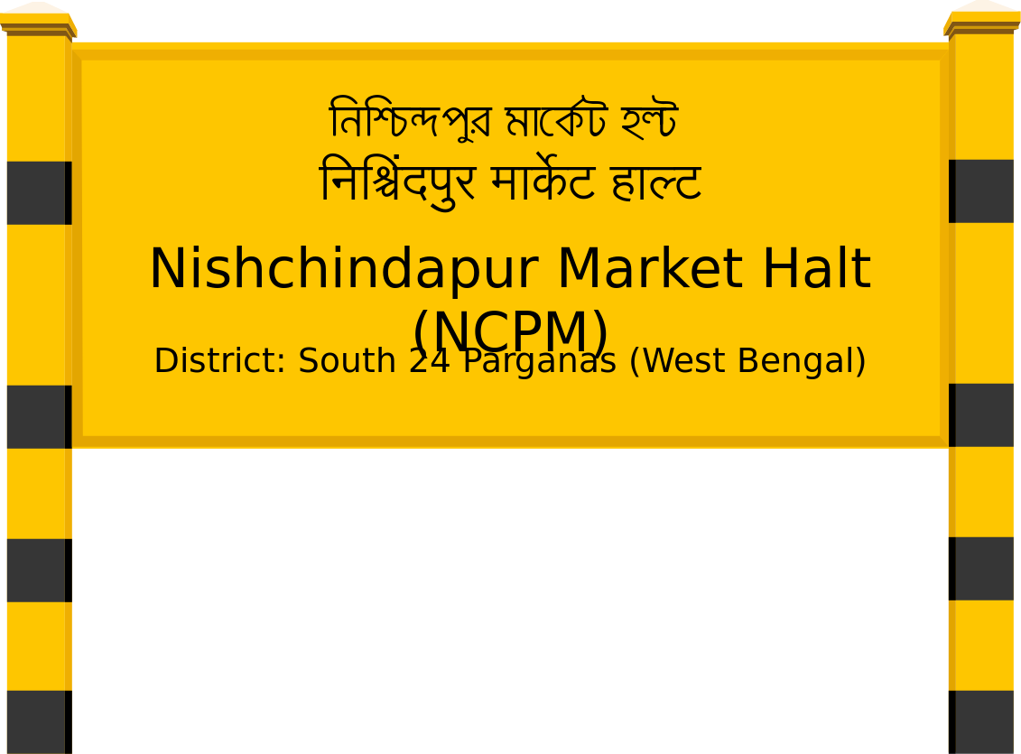 Nishchindapur Market Halt (NCPM) Railway Station
