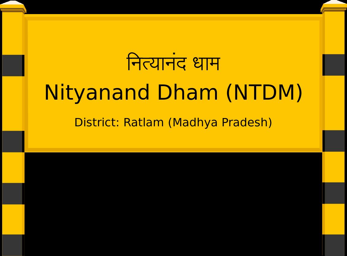 Nityanand Dham (NTDM) Railway Station