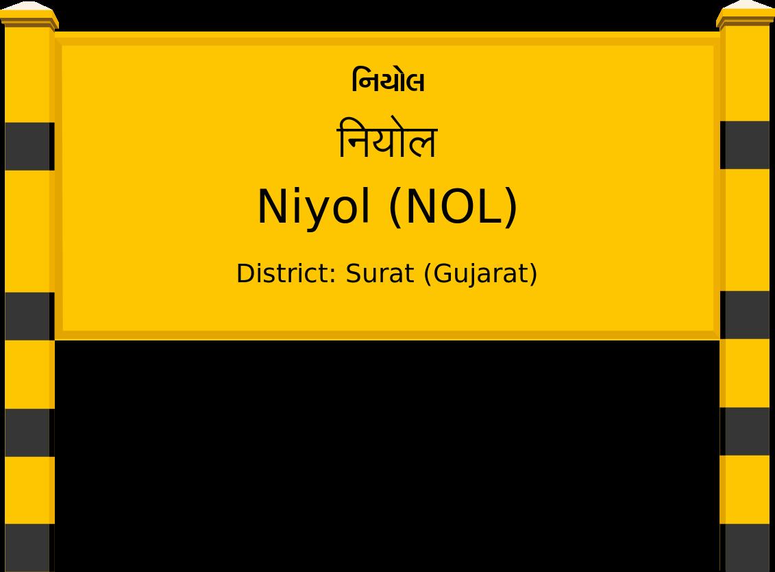 Niyol (NOL) Railway Station