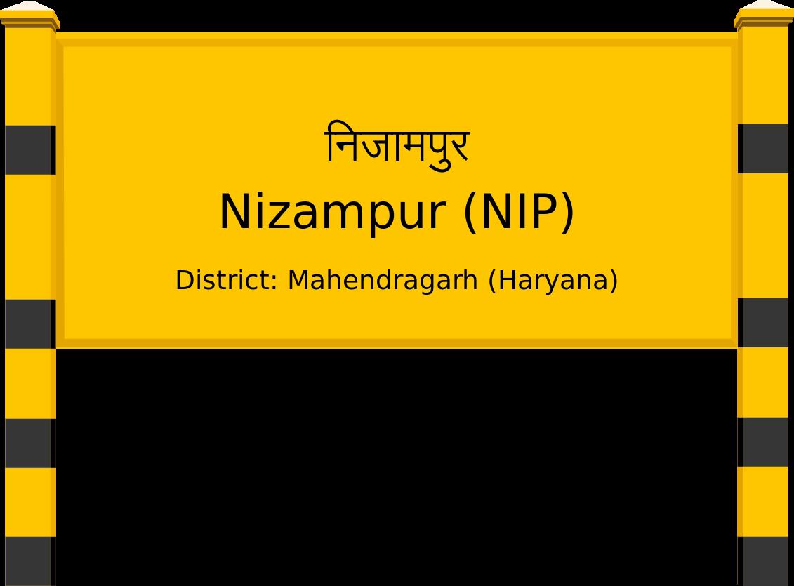 Nizampur (NIP) Railway Station