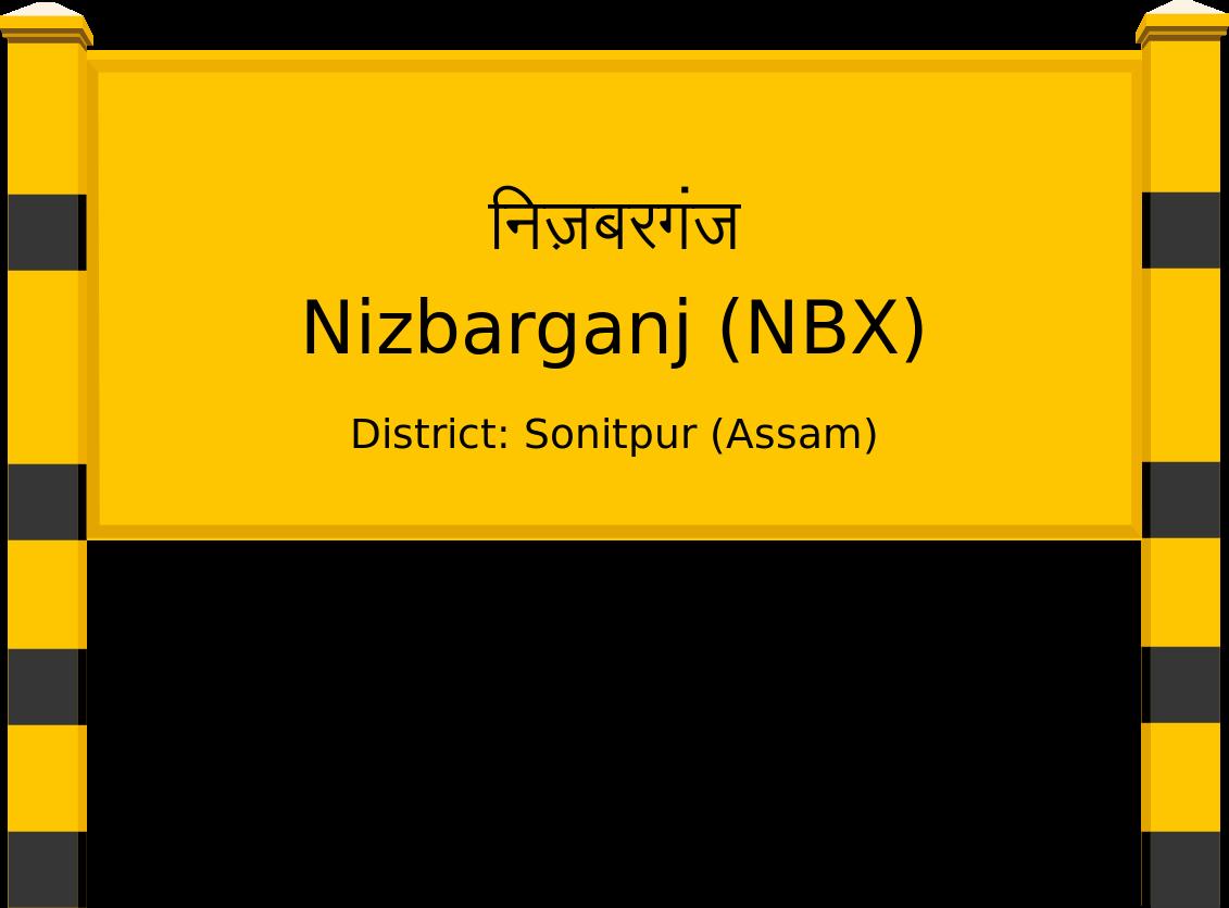 Nizbarganj (NBX) Railway Station