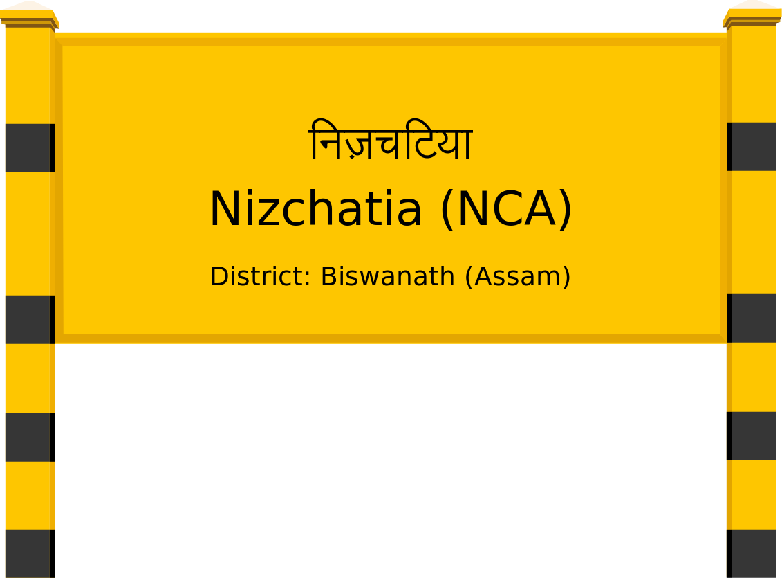 Nizchatia (NCA) Railway Station