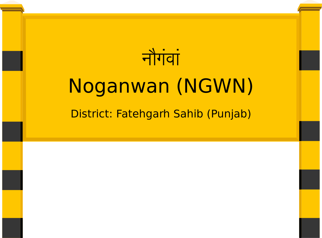 Noganwan (NGWN) Railway Station
