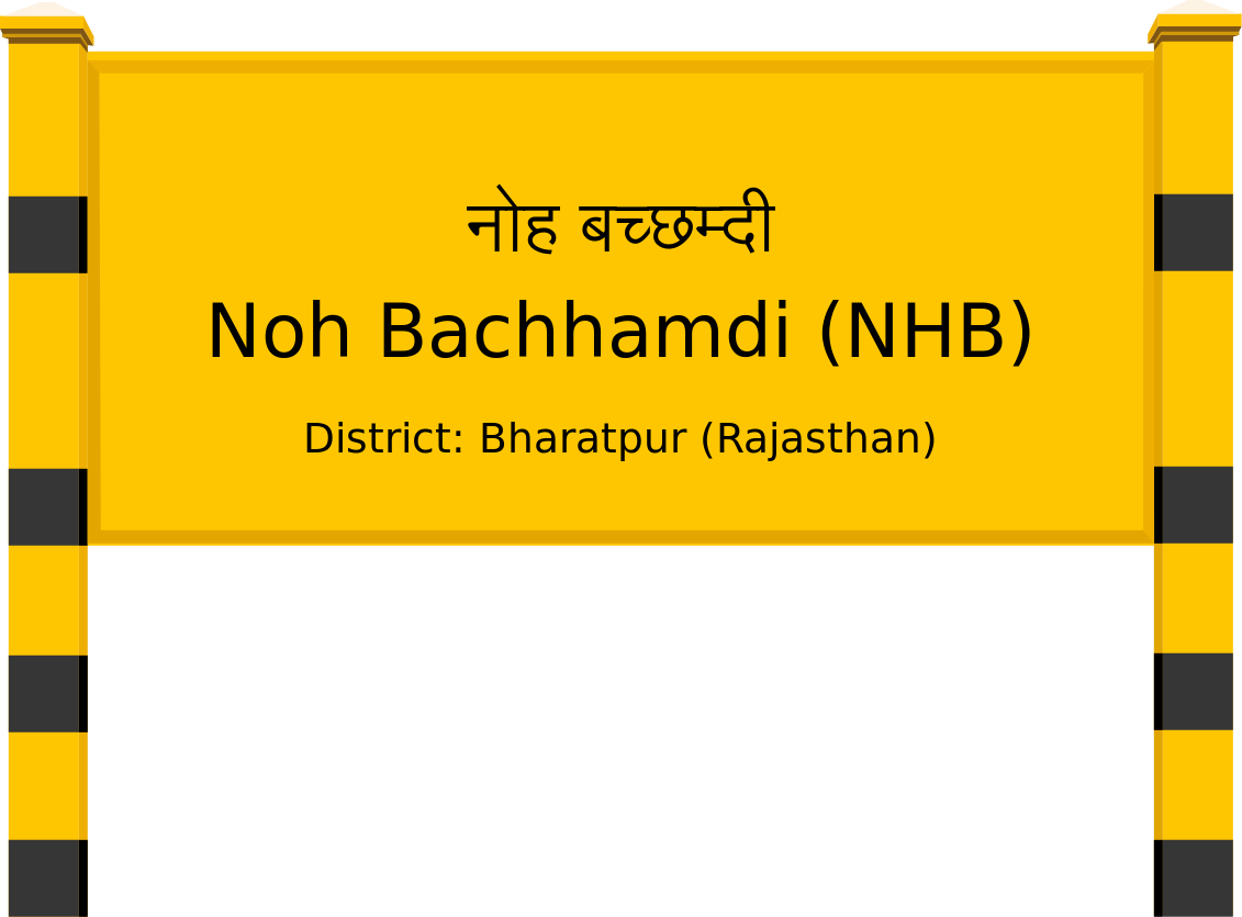 Noh Bachhamdi (NHB) Railway Station