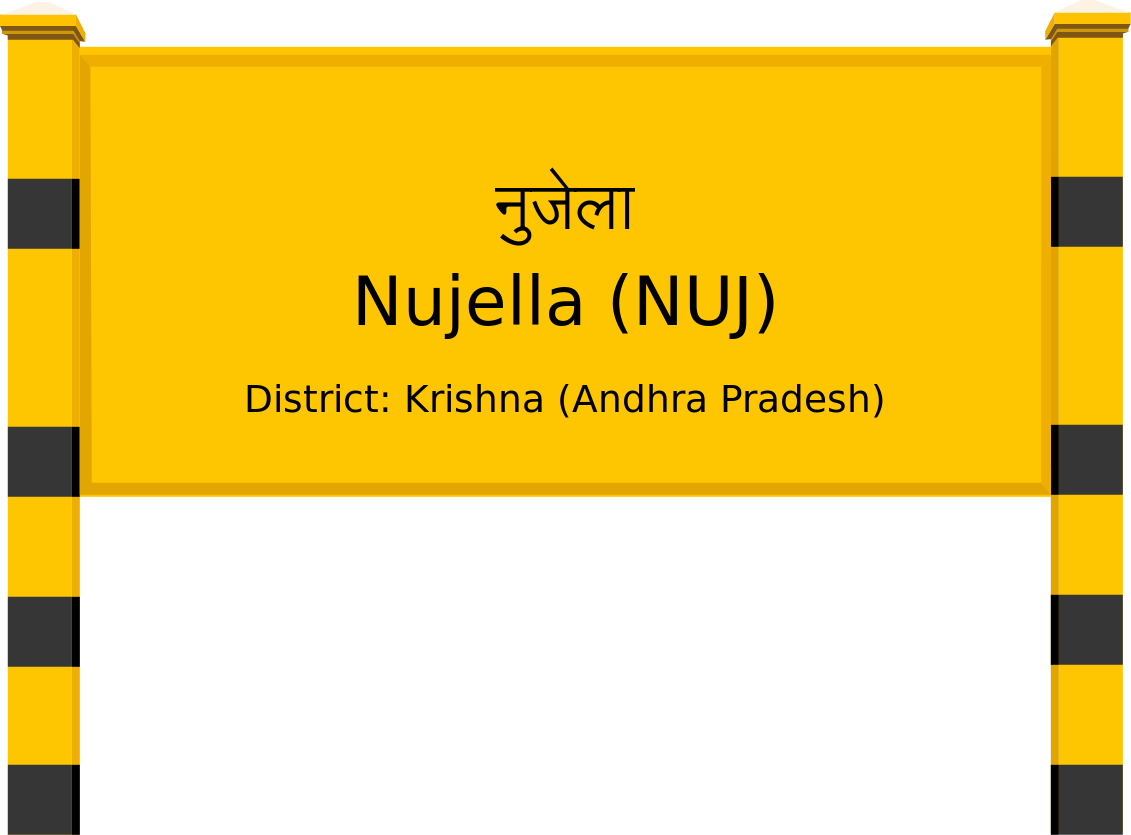 Nujella (NUJ) Railway Station