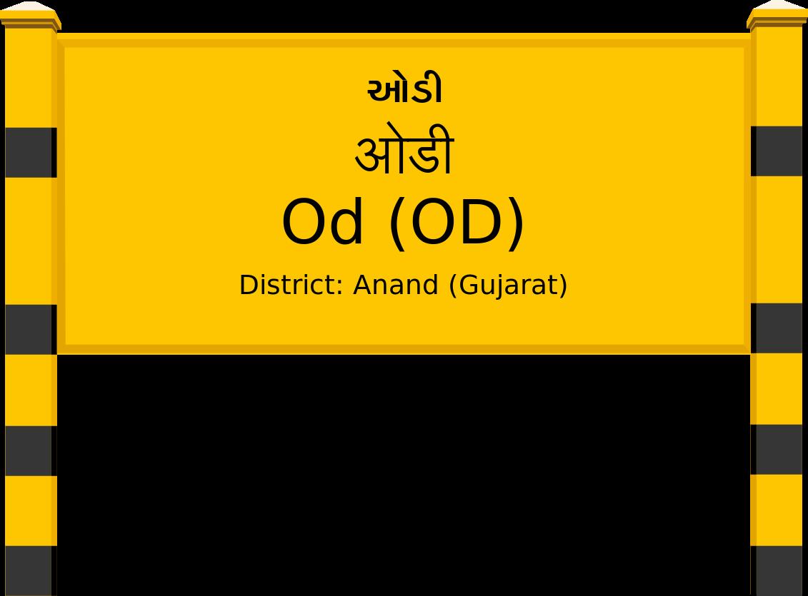 Od (OD) Railway Station