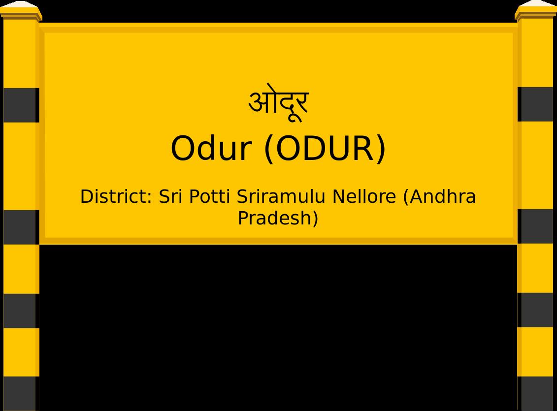 Odur (ODUR) Railway Station