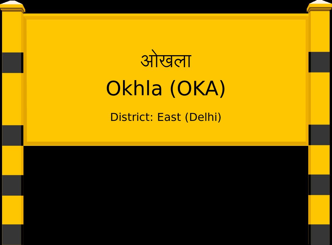 Okhla (OKA) Railway Station