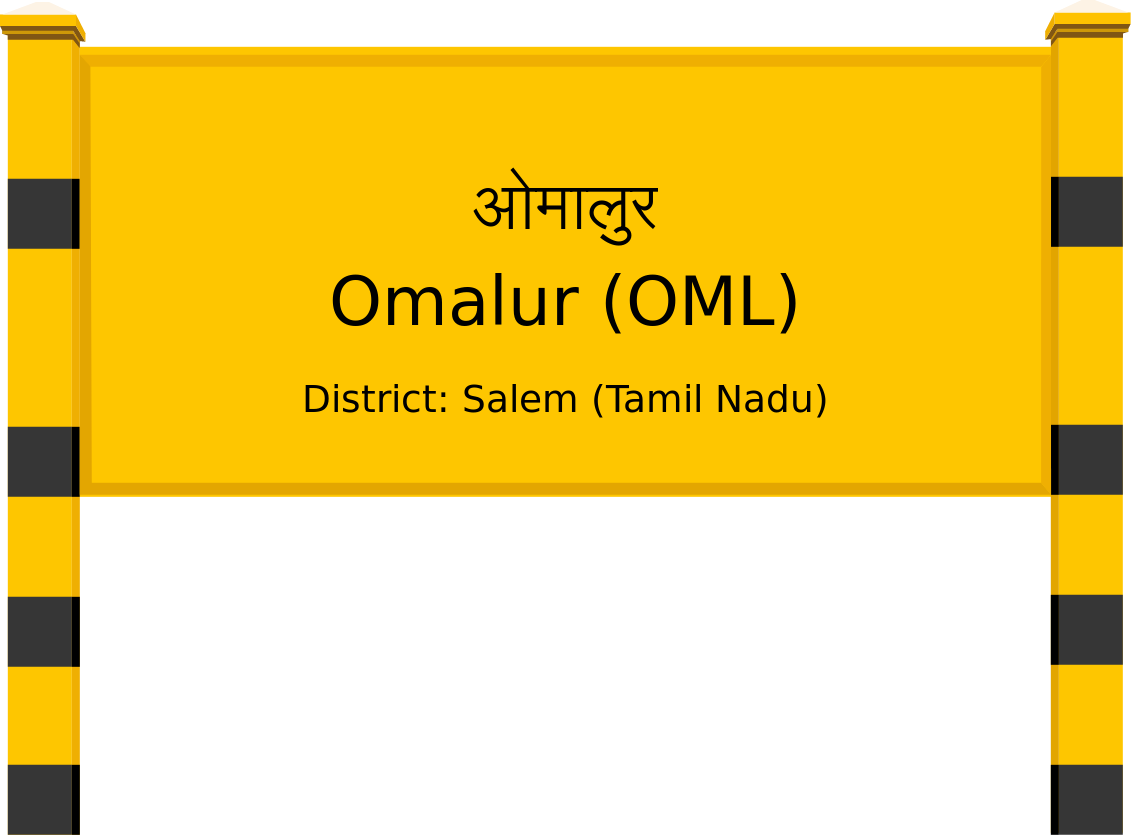 Omalur (OML) Railway Station