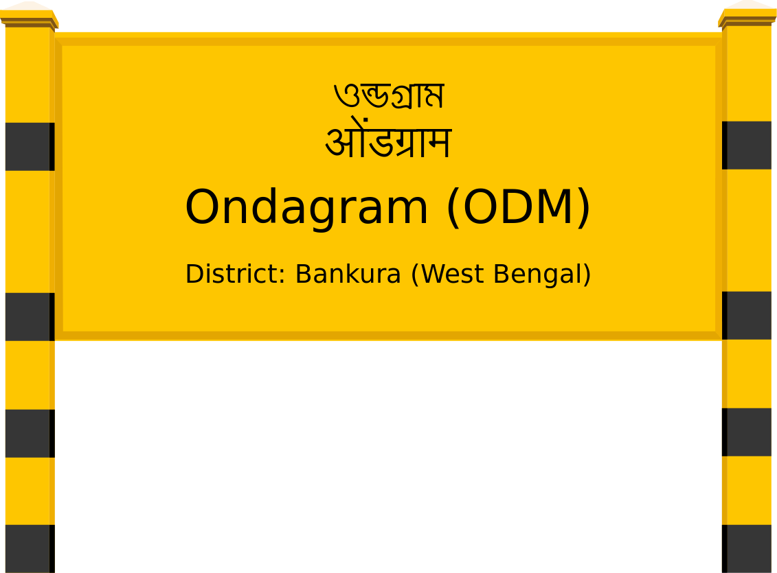 Ondagram (ODM) Railway Station