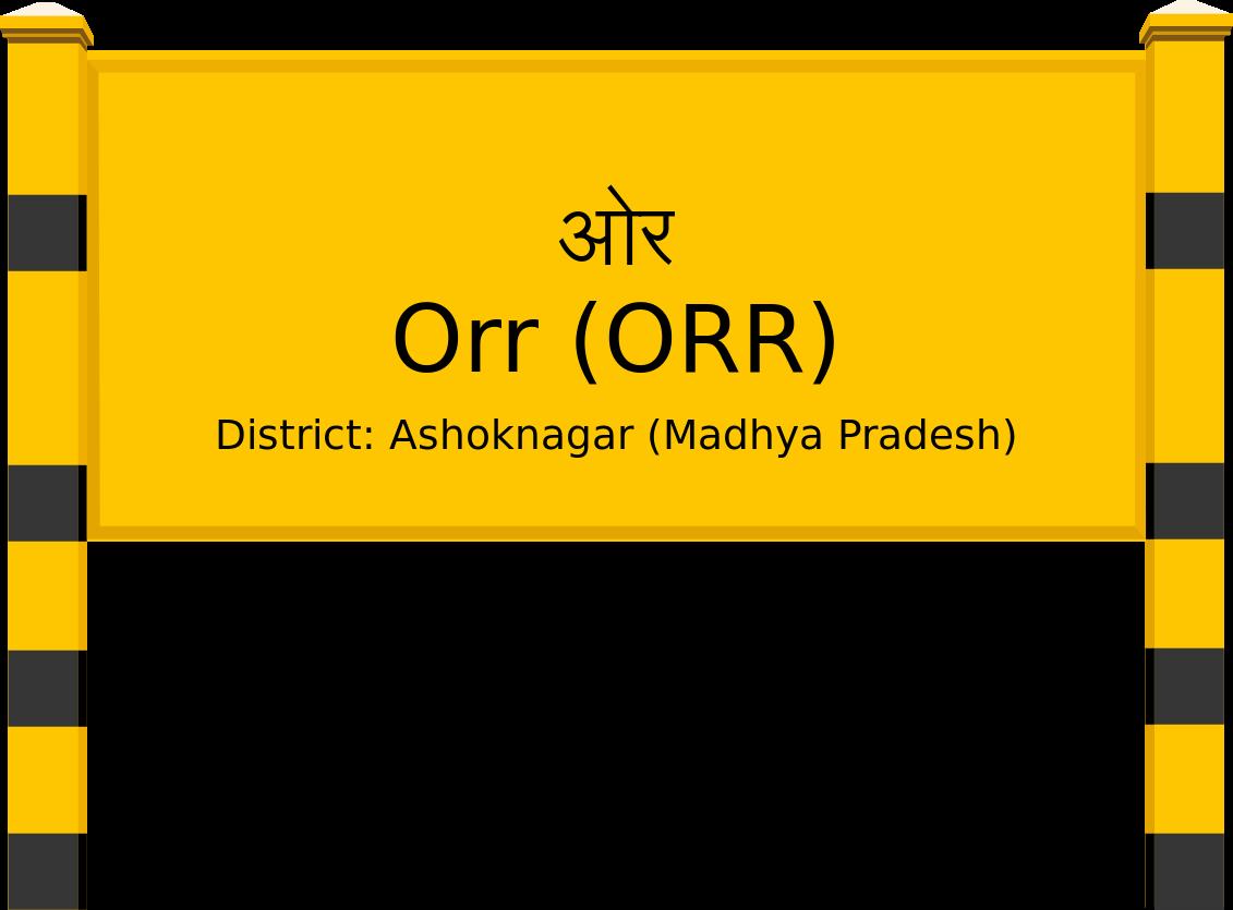 Orr (ORR) Railway Station