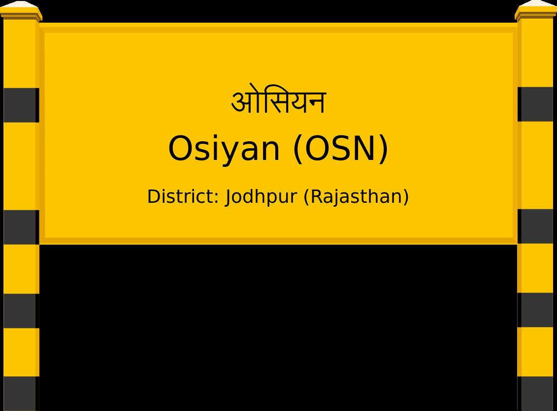 Osiyan (OSN) Railway Station