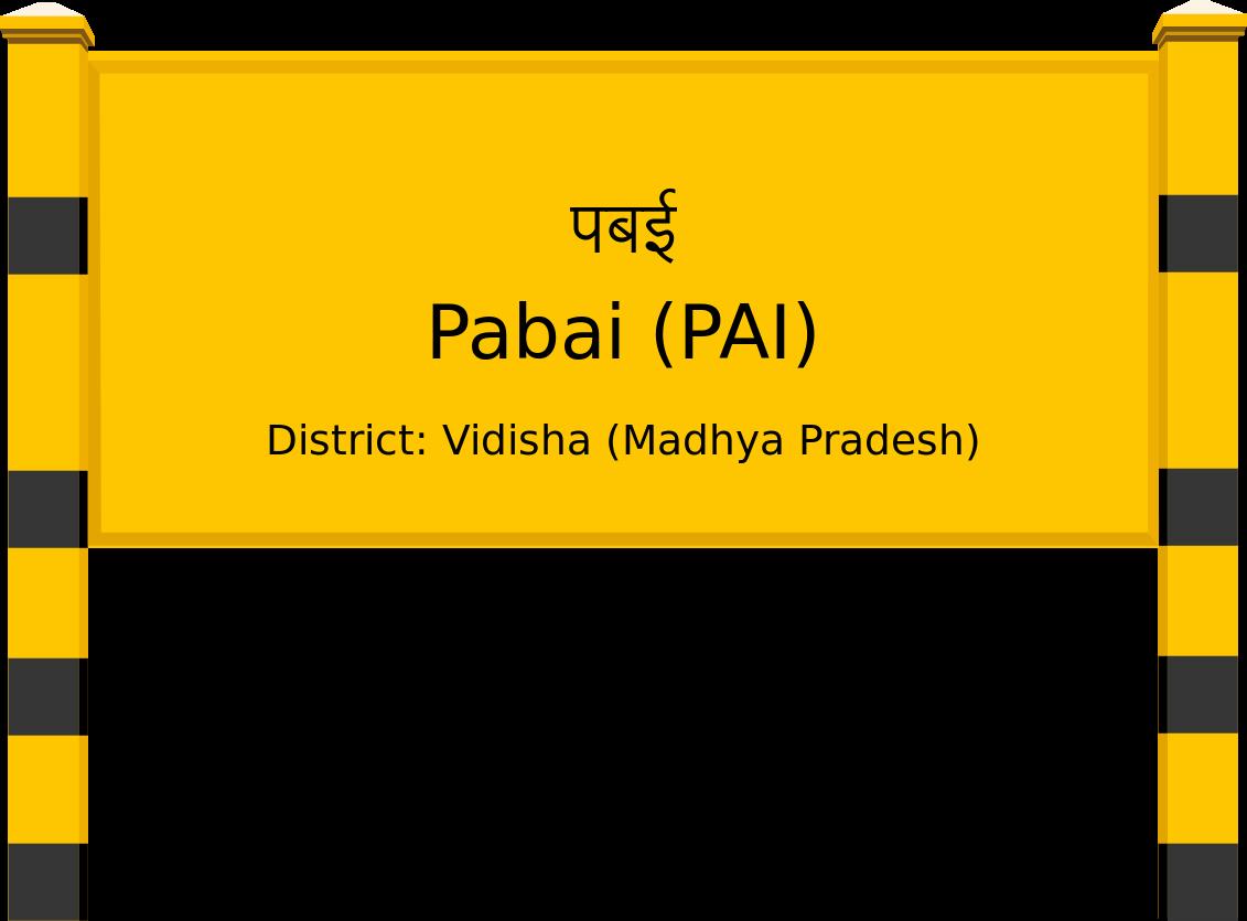 Pabai (PAI) Railway Station
