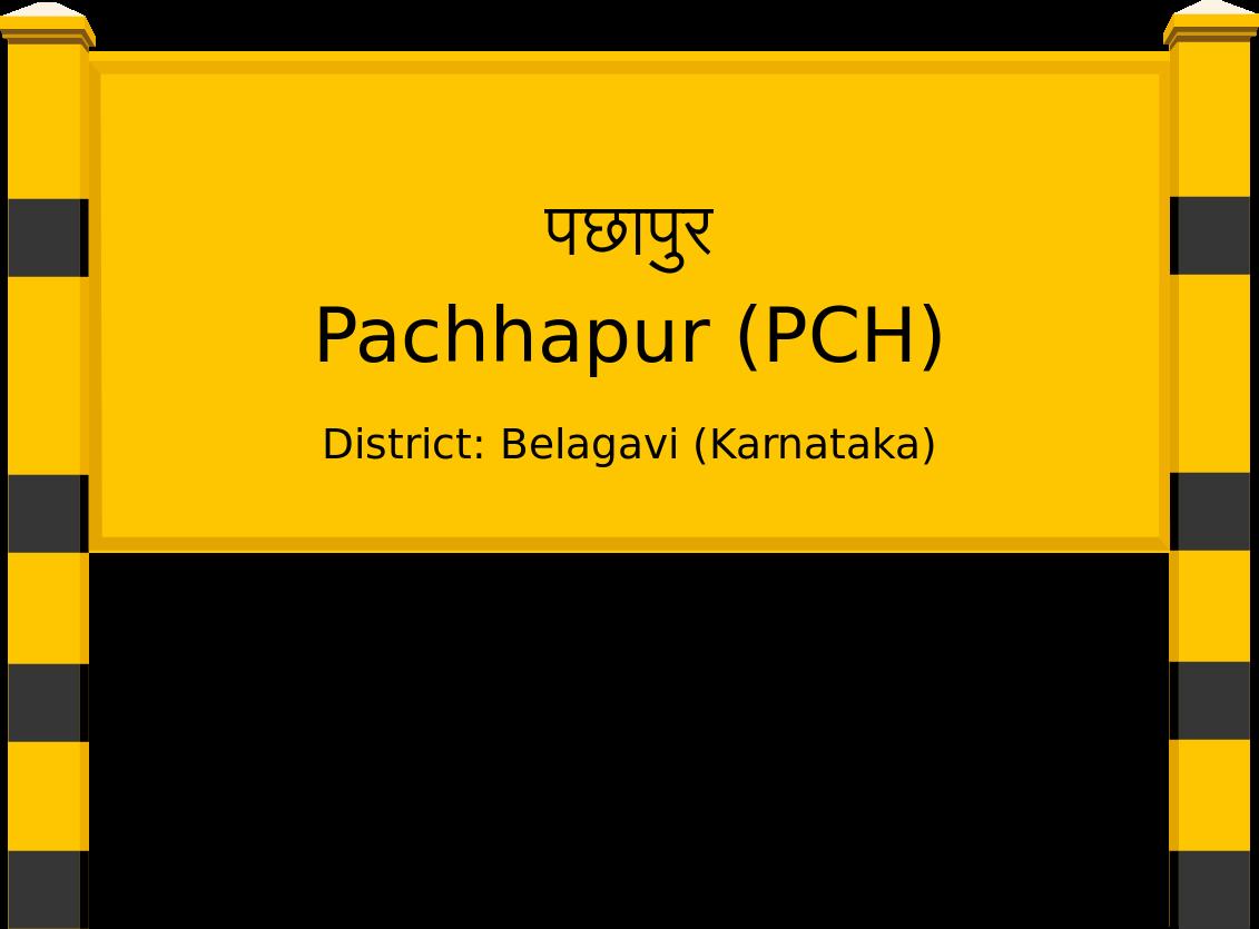 Pachhapur (PCH) Railway Station