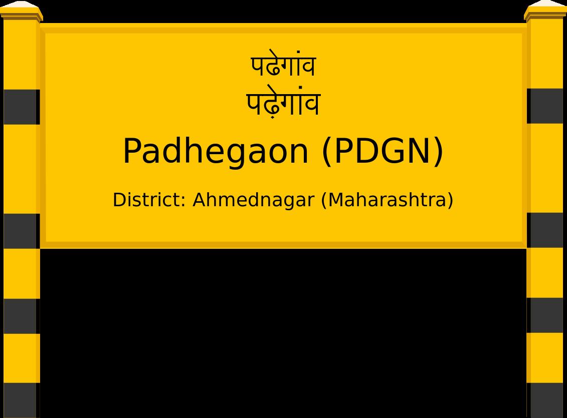 Padhegaon (PDGN) Railway Station