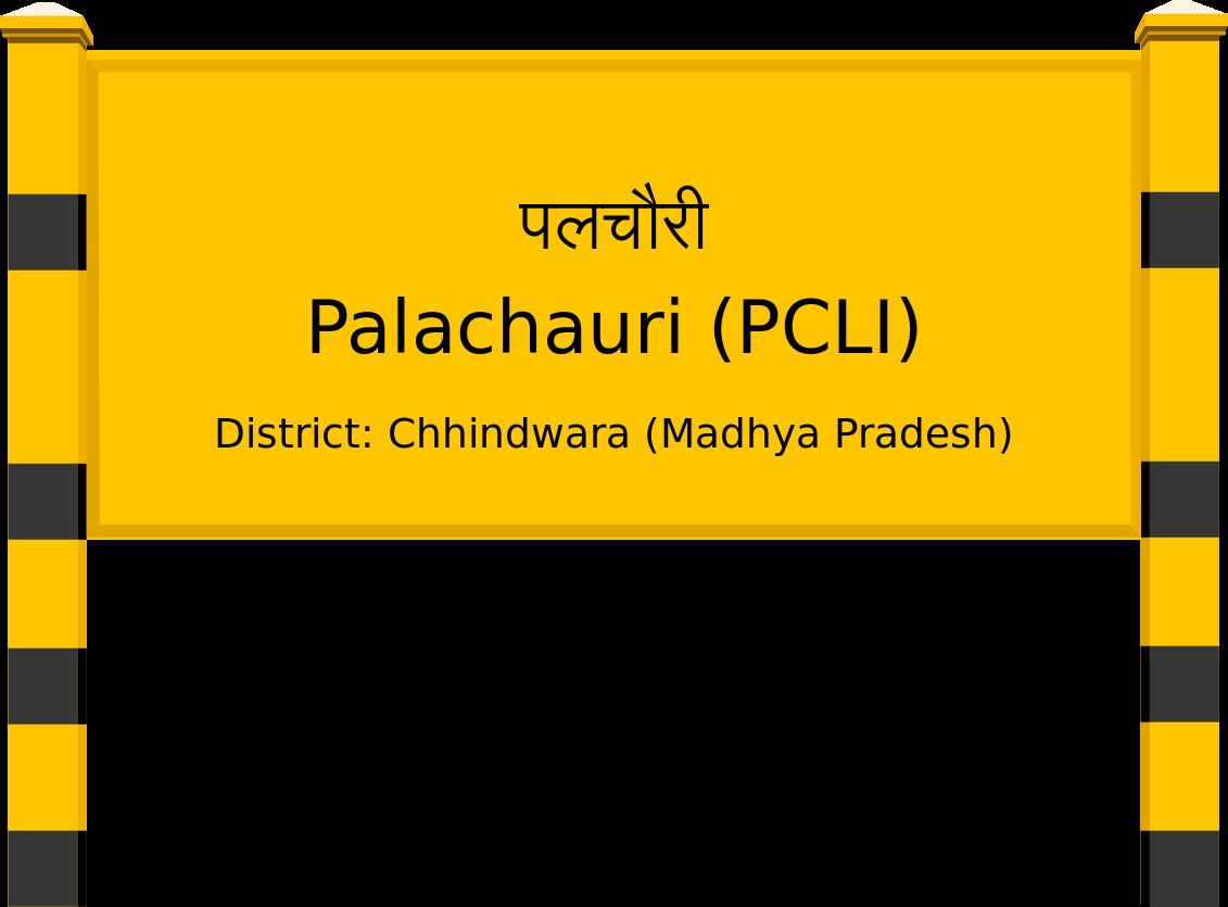 Palachauri (PCLI) Railway Station