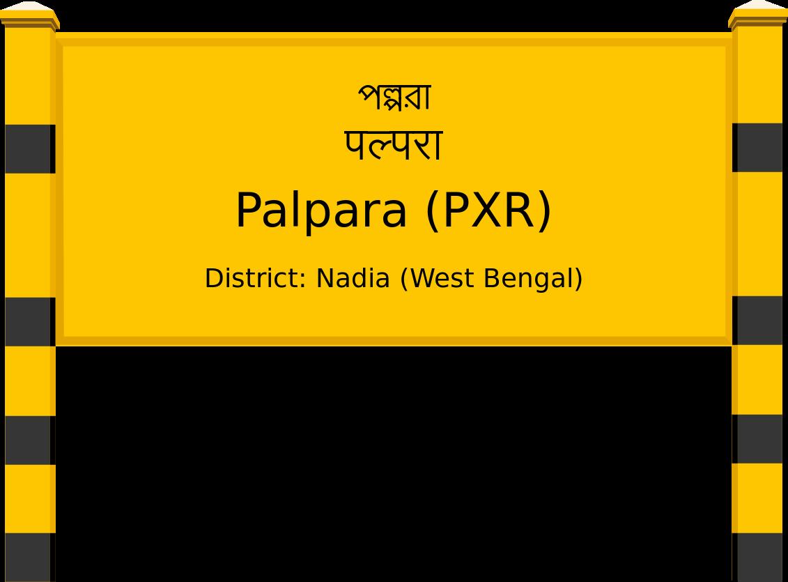 Palpara (PXR) Railway Station