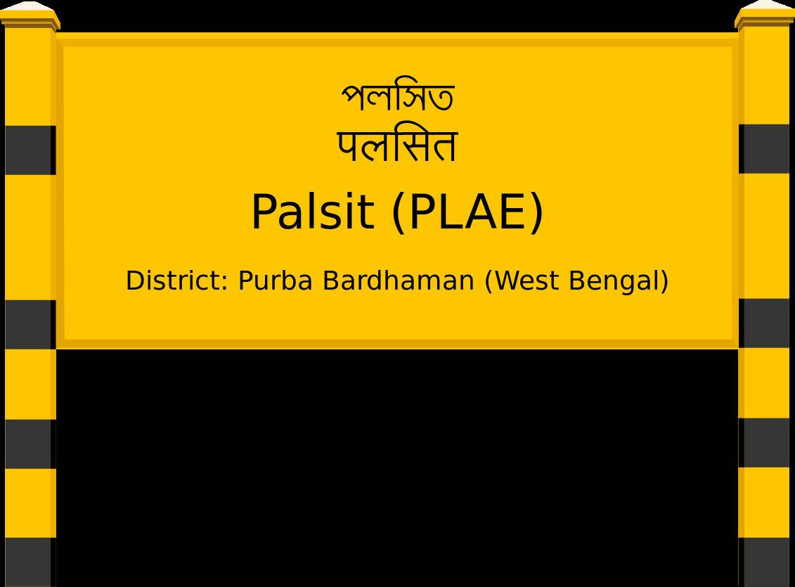 Palsit (PLAE) Railway Station
