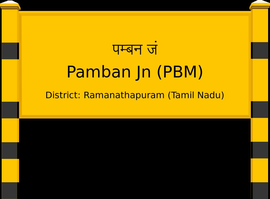 Pamban Jn (PBM) Railway Station