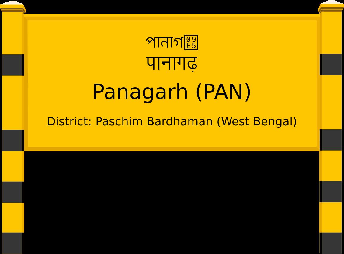 Panagarh (PAN) Railway Station