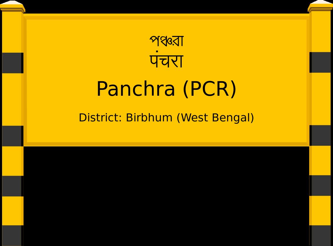 Panchra (PCR) Railway Station