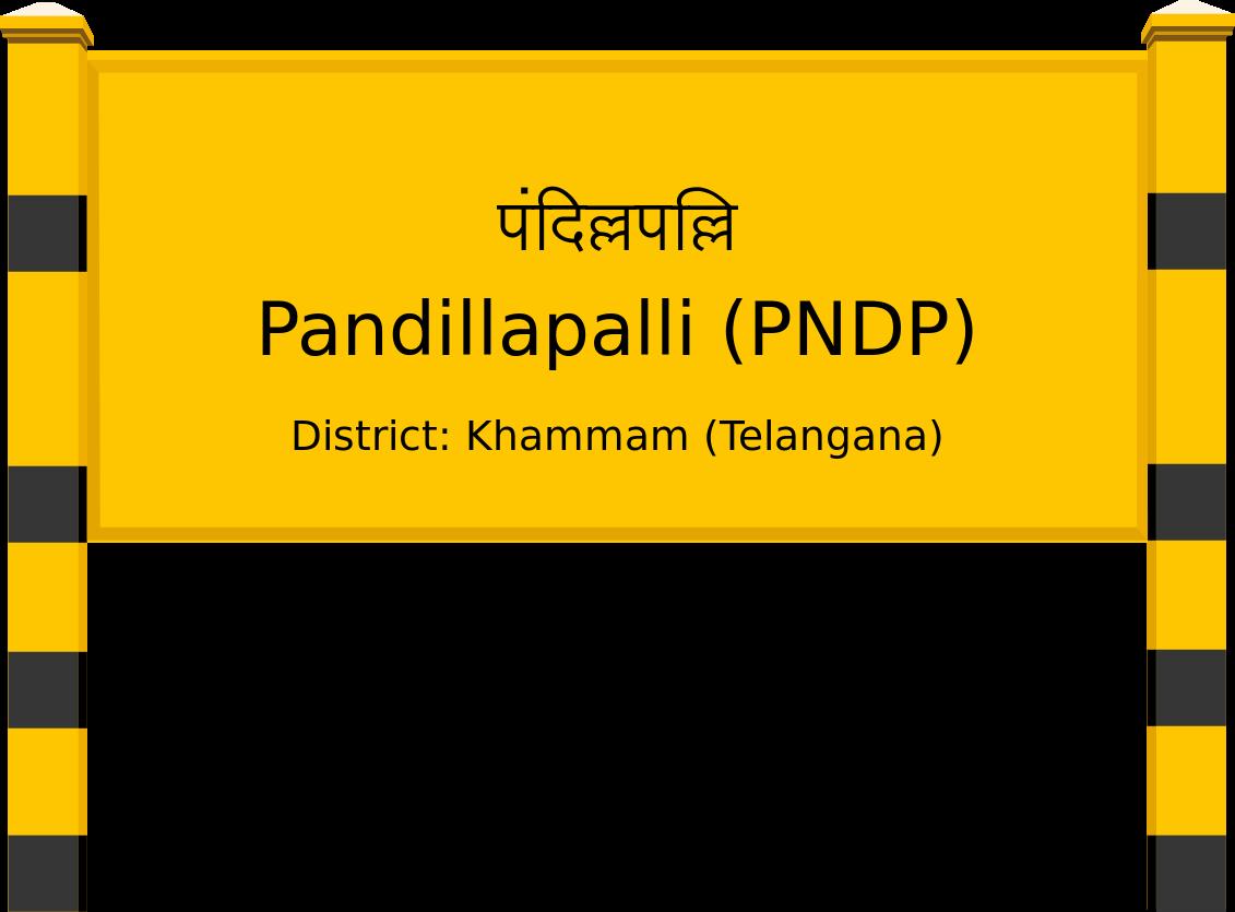 Pandillapalli (PNDP) Railway Station