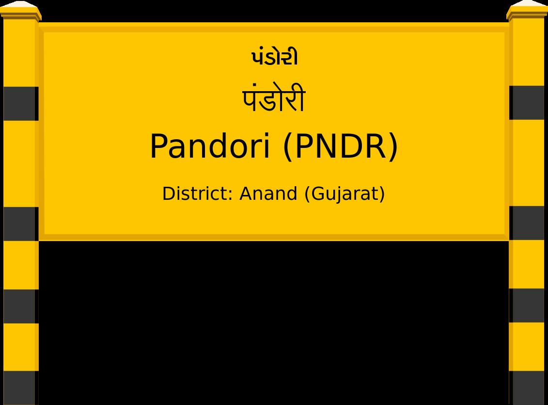 Pandori (PNDR) Railway Station