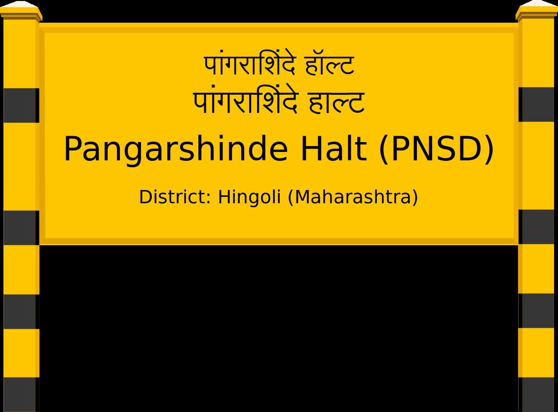 Pangarshinde Halt (PNSD) Railway Station