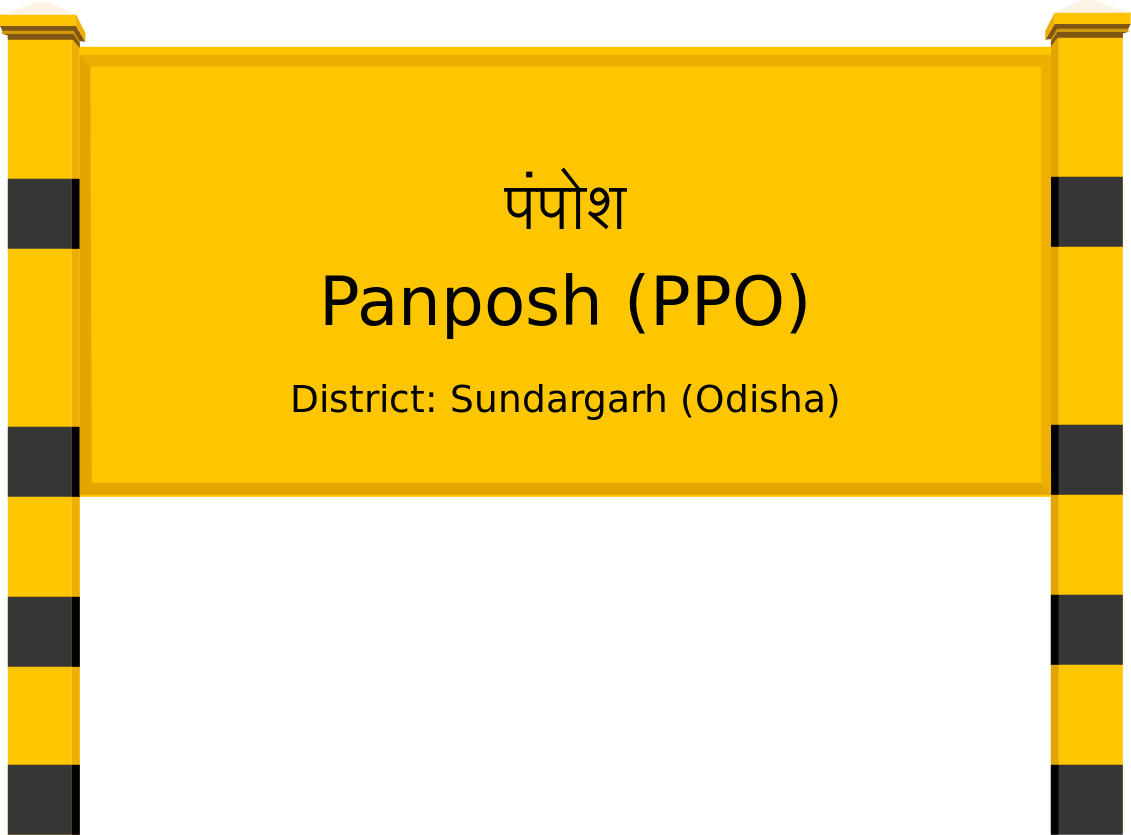 Panposh (PPO) Railway Station