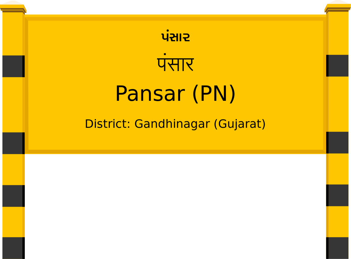 Pansar (PN) Railway Station