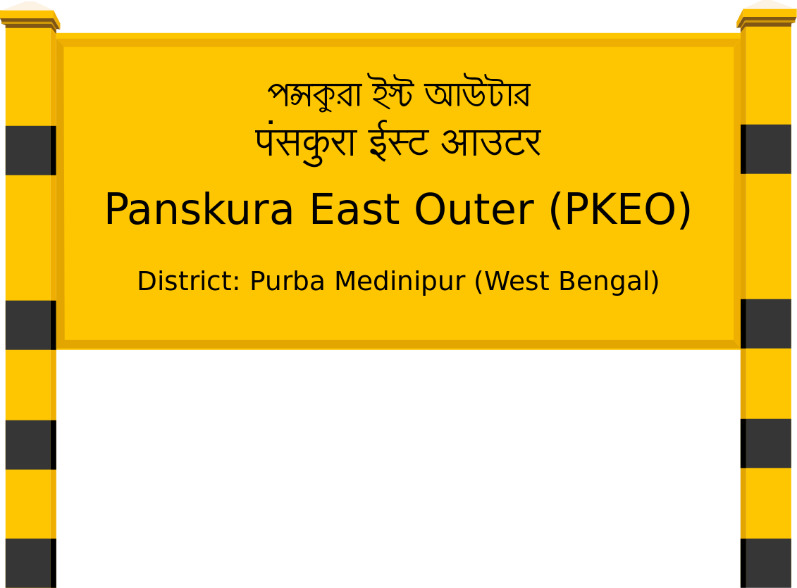 Panskura East Outer (PKEO) Railway Station