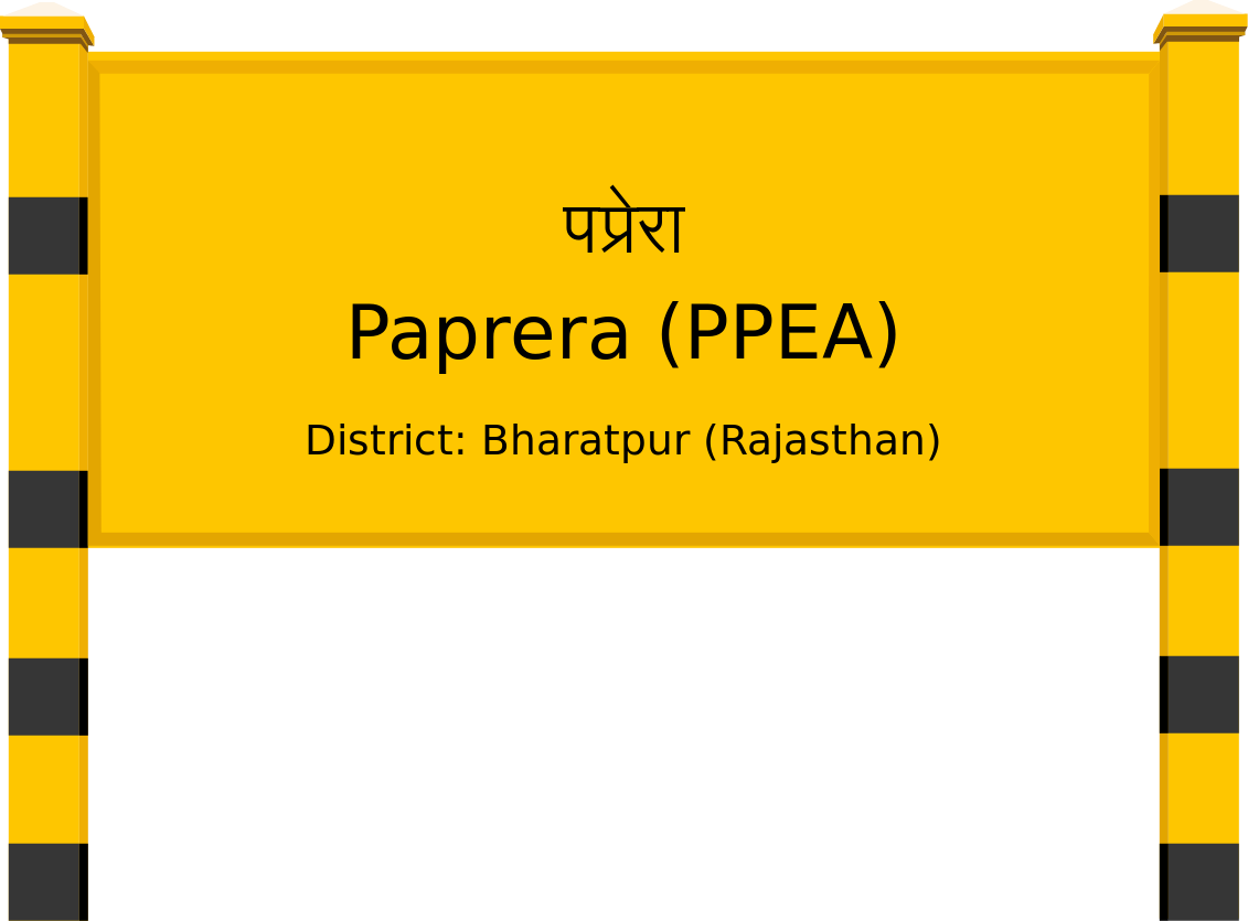 Paprera (PPEA) Railway Station