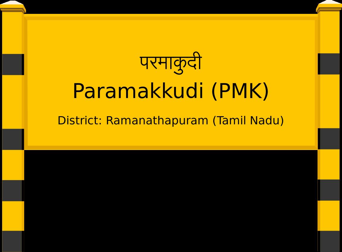 Paramakkudi (PMK) Railway Station