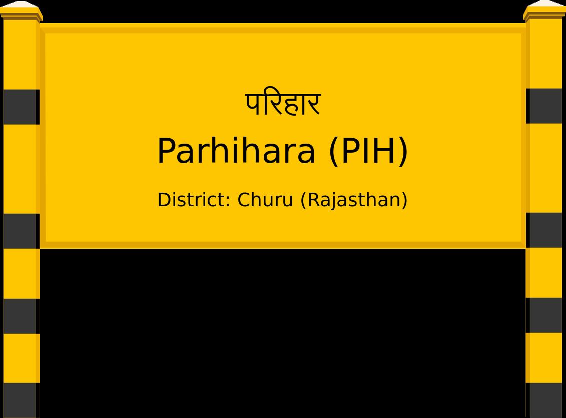 Parhihara (PIH) Railway Station