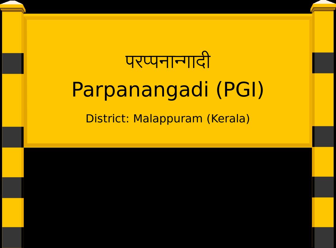 Parpanangadi (PGI) Railway Station