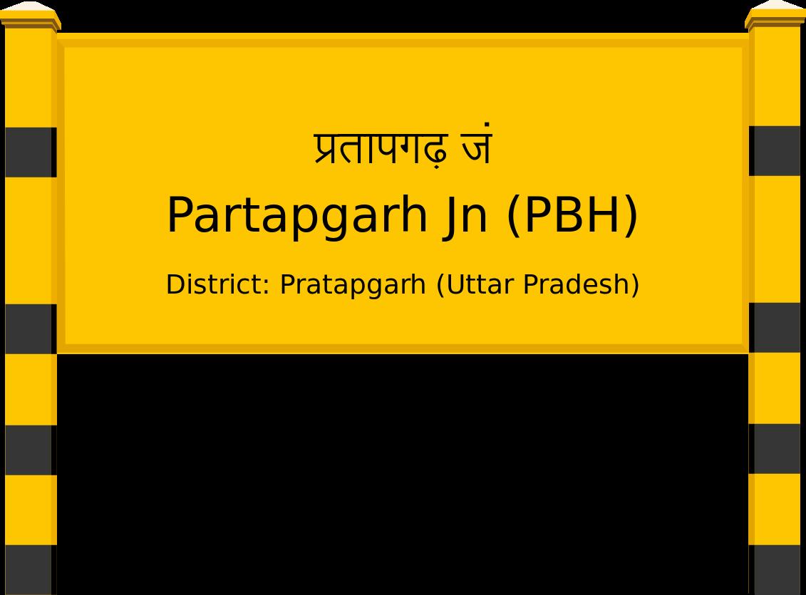 Partapgarh Jn (PBH) Railway Station