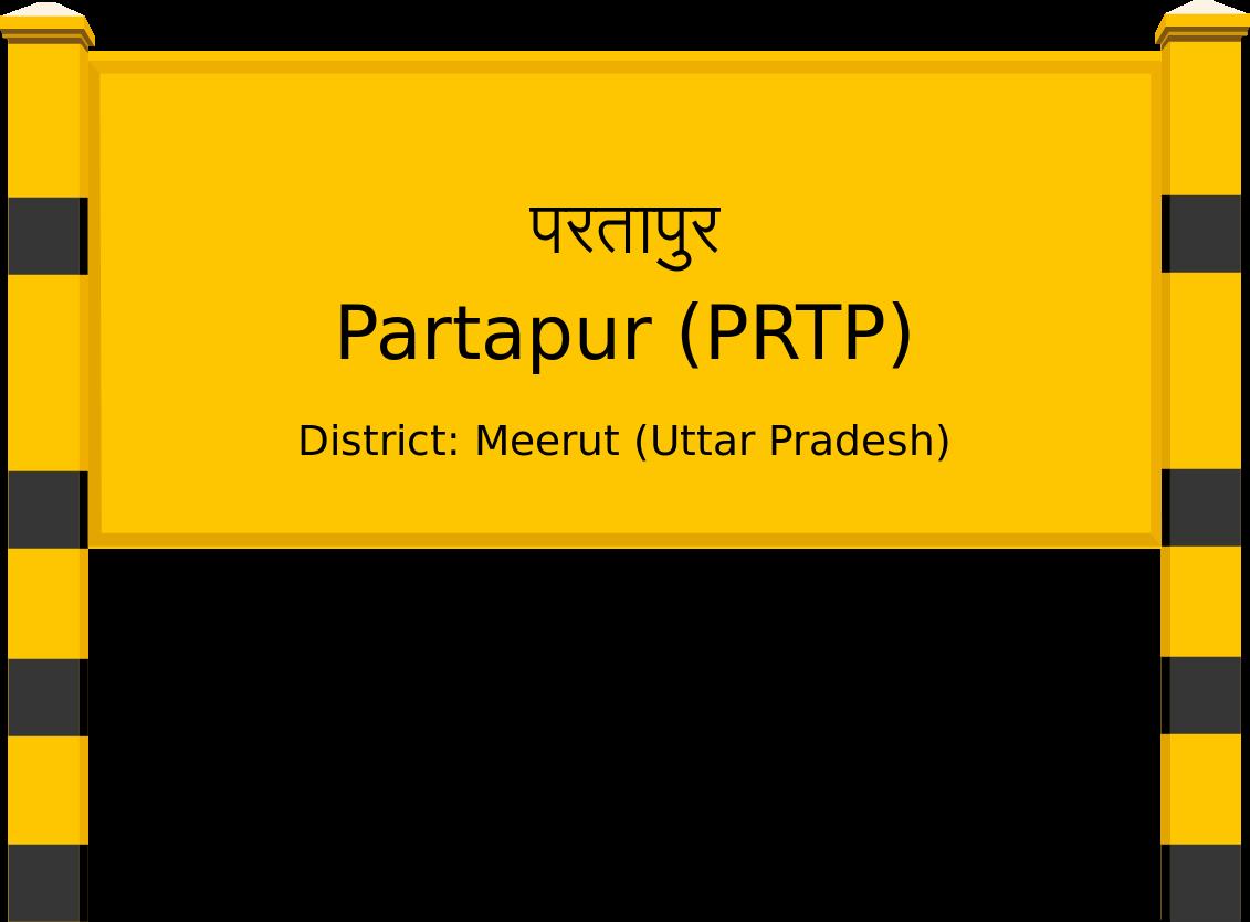 Partapur (PRTP) Railway Station