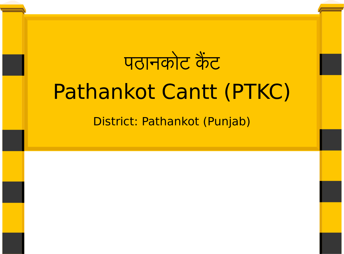 Pathankot Cantt (PTKC) Railway Station