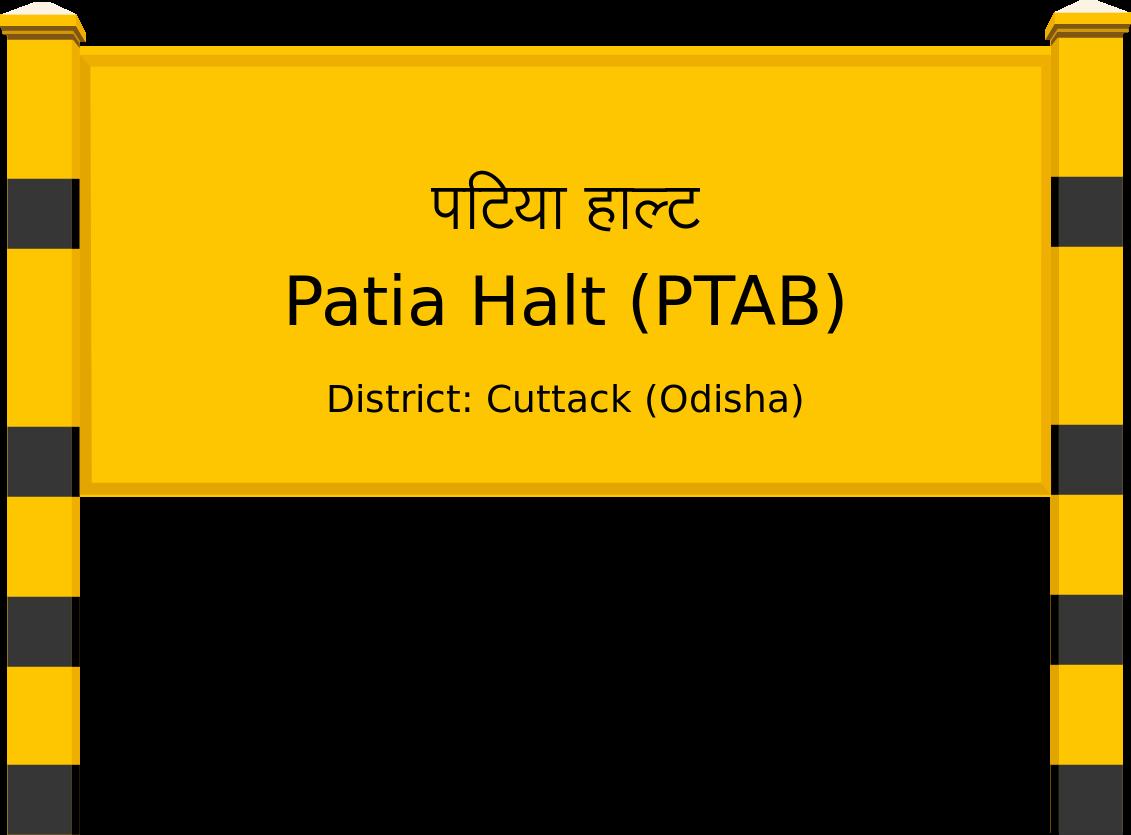 Patia Halt (PTAB) Railway Station