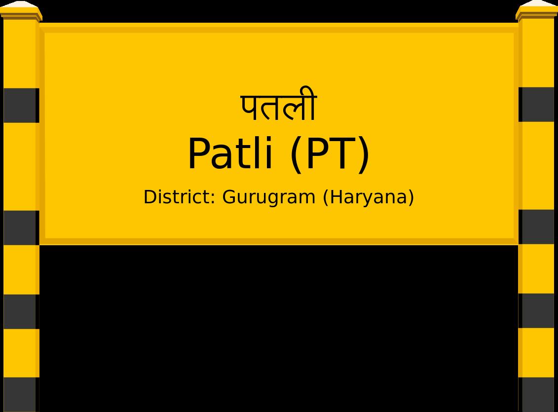 Patli (PT) Railway Station