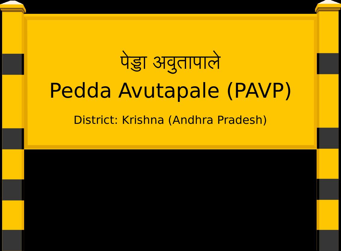 Pedda Avutapale (PAVP) Railway Station