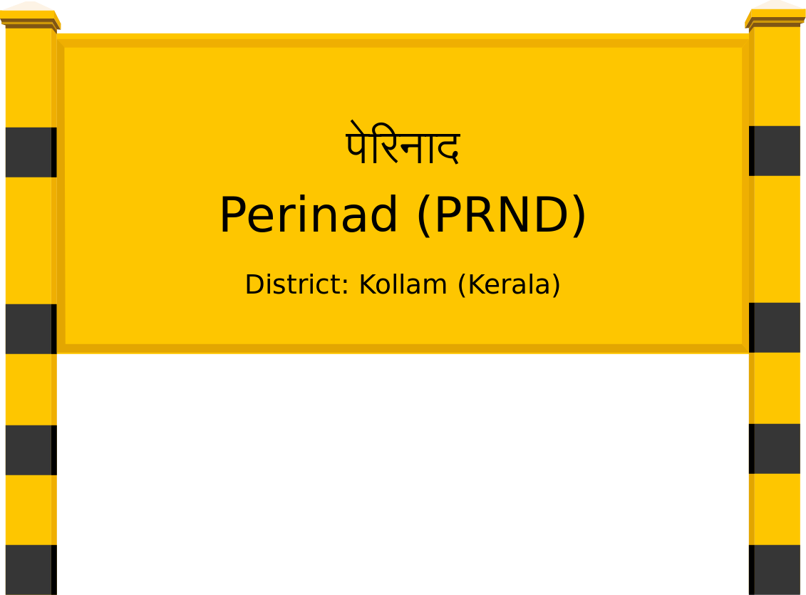 Perinad (PRND) Railway Station