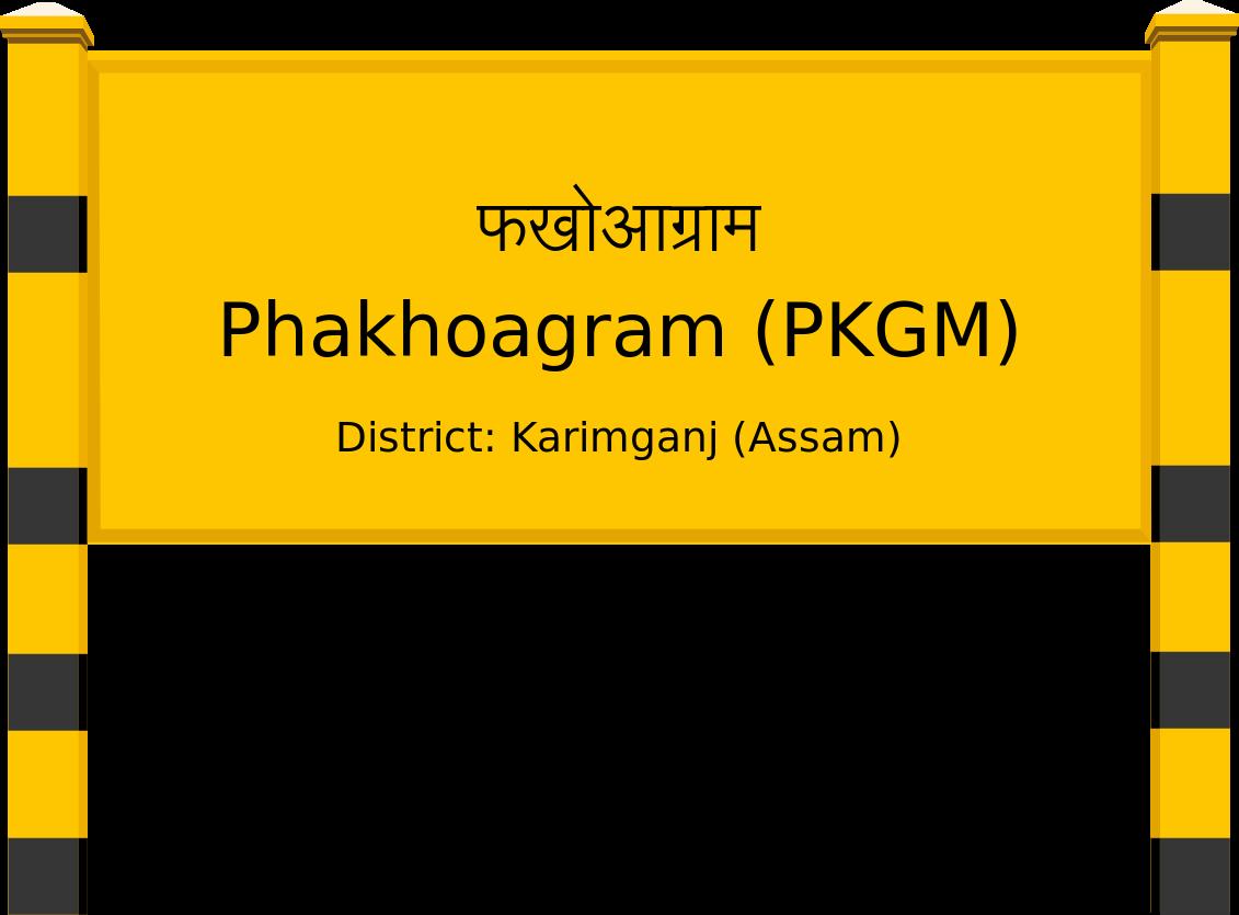Phakhoagram (PKGM) Railway Station