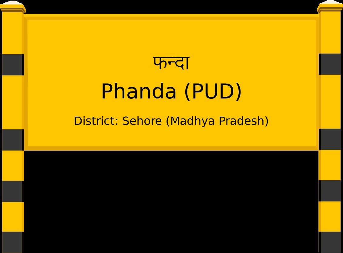Phanda (PUD) Railway Station