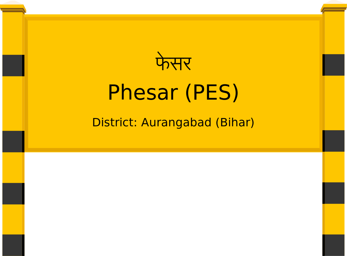 Phesar (PES) Railway Station