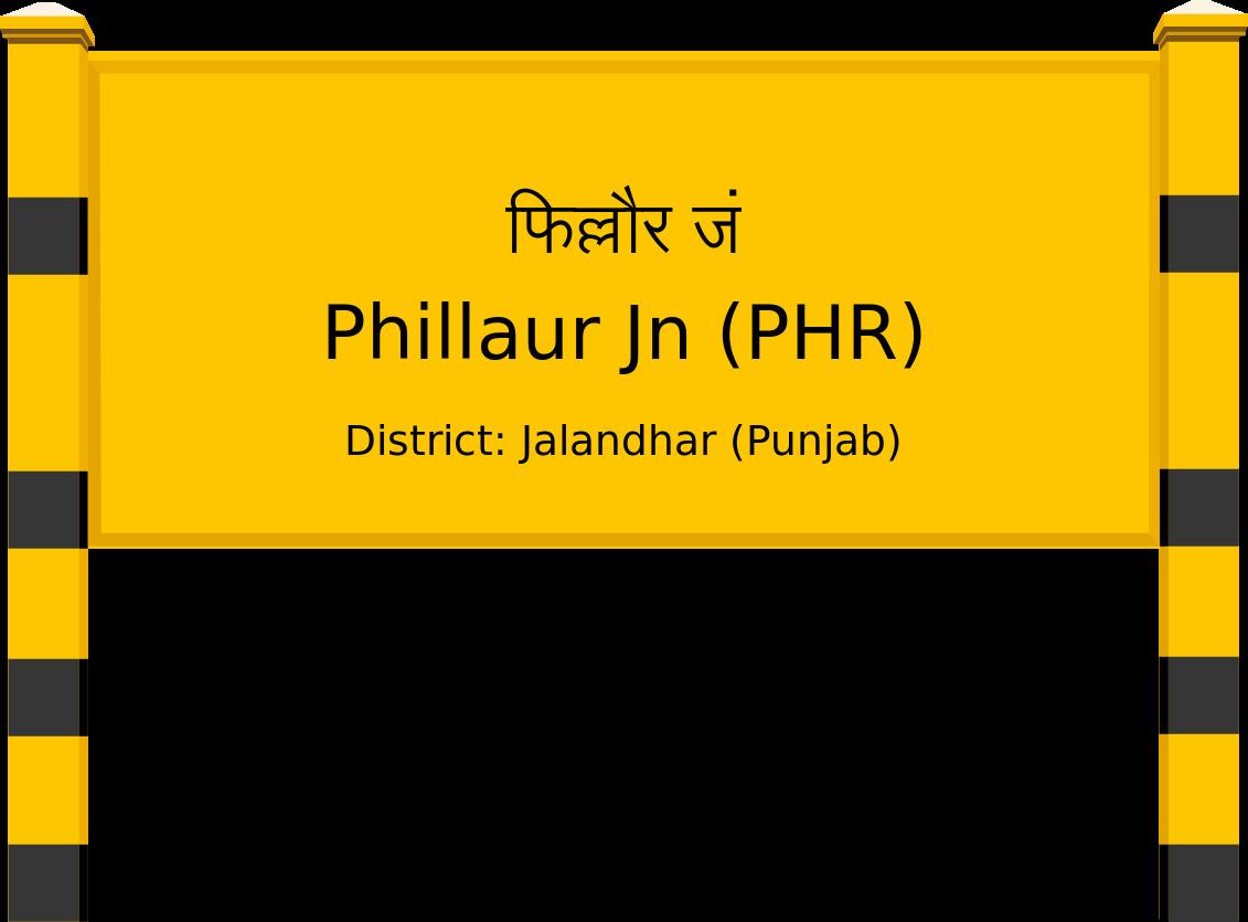 Phillaur Jn (PHR) Railway Station